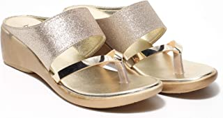 Butterflies Steps Latest Collection, Comfortable Wedges for Women's & Girl's (Copper) (GHS-0004CPR)