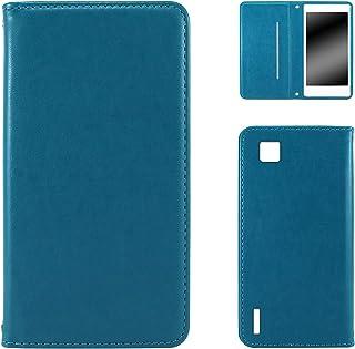 WHITENUTS Optimus X IS11LG LGI11 ケース 手帳型 スタイリッシュ ブルー TC-D0004975/S