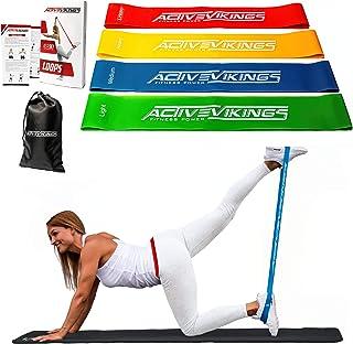 Activevikings Set för Kvinnor Fyra Styrkor Idealisk för Muskelbyggande Sjukgymnastik Pilates Yoga Gymnastik och Crossfit, ...