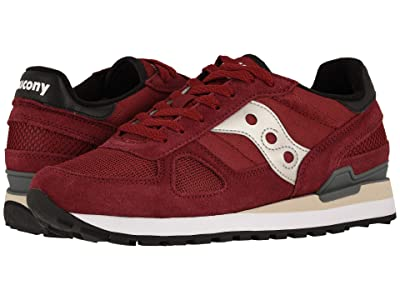 Saucony Originals Shadow Original (Burgundy/Black) Men