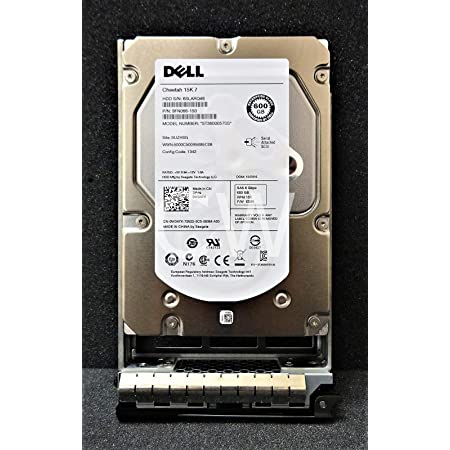New Bulk Zero Hours Dell W347K 600 GB 3.5in HDD w//R Series Tray 2016