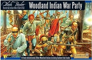 Black Powder Warlord Games, Woodland Indian War Party, Wargaming Miniatures