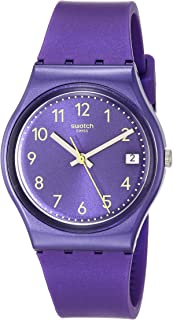 Essentials Quartz Silicone Strap, Purple, 16 Casual Watch (Model: GV402)