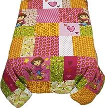 Nickelodeon Dora Explorer Puppy Patchwork Full Bed Comforter