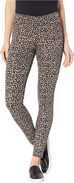 Leopard Denim Leggings