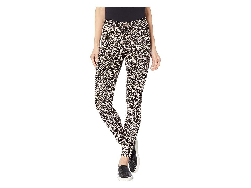b0d914818c2 HUE Leopard Denim Leggings (Brown) Women