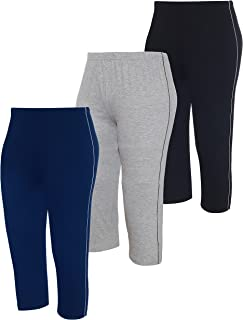 Espresso Women's Regular Fit Capri (Pack of 3)
