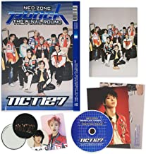 NCT 127 2nd Repackage Album - NCT # 127 NEO ZONE : THE FINAL ROUND [ 1st Player ] CD + Booklet + Post Card + Folding Poster + Photocard + Circle Card + FREE GIFT