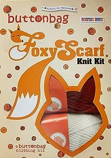 button bag Foxy Scarf Creative Art & Craft Knitting Kit