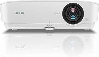 BenQ TW535 WXGA High Brightness Digital Projector, Full HD Capable, 3600 ANSI Lumen with Table Top Placement, HDMI x2 - White