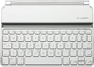 Logitech Ultrathin Keyboard Cover Mini for iPad mini - White (Renewed)