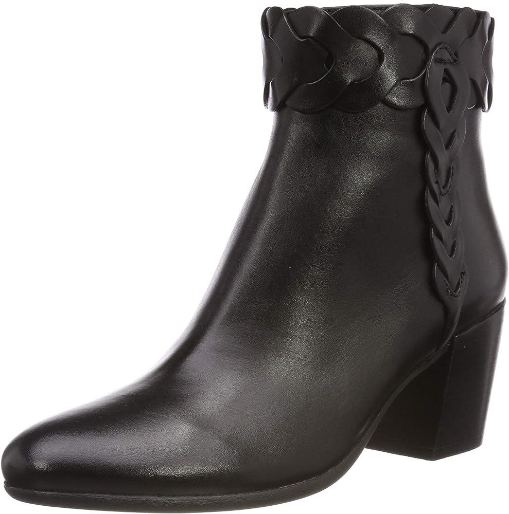 Geox d new lucinda a, stivali alla caviglia donna D92AMA00043