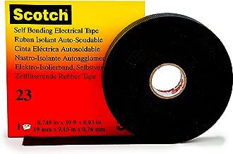 Self fusing reparature Band (L x W) 9.15 m x 19 mm Black Ethylene-Propylene Rubber 3M Scotch 233M