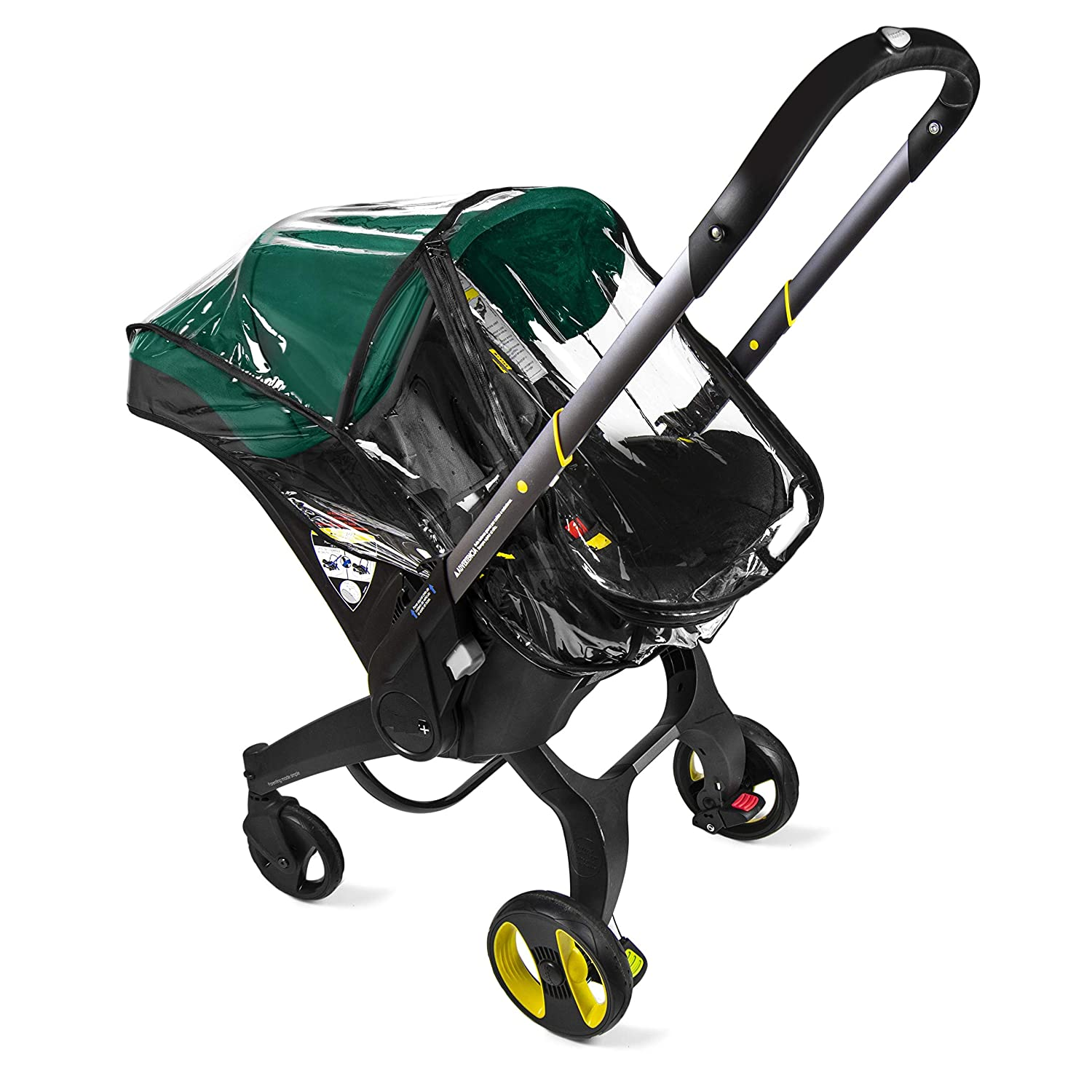 Baby & Beyond's, Premium Rain Cover, Compatible with Doona Infant Car Seat Stroller (Regular)