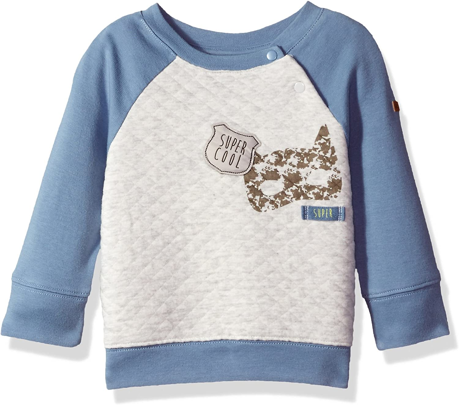 Robeez Baby Boys Quilted Pullover