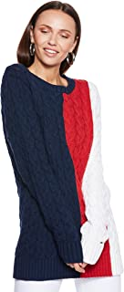 Tommy Hilfiger Sweater for women in Multicolored, Size:XL