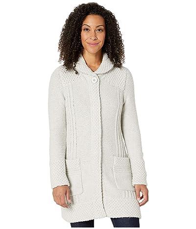 Prana Elsin Sweater Coat (Bone) Women