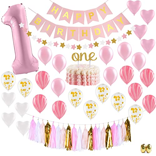 ee8517b4ec70 1st Birthday Princess Decorations  Amazon.com