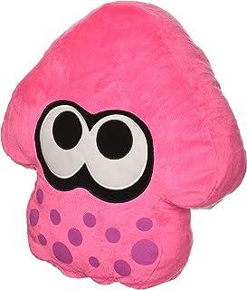 Sanei Splatoon 2 Cushion (Neon Pink) 13.5' Plush