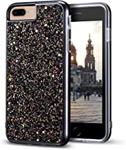 iPhone 8 Plus Case, iPhone 7 Plus Case, MIRACASE Bling Sparkle Dual Layer Shockproof Hard PC Cover Soft TPU Inner Glitter Case for iPhone 7 Plus/8 Plus/6 Plus/6S Plus (5.5