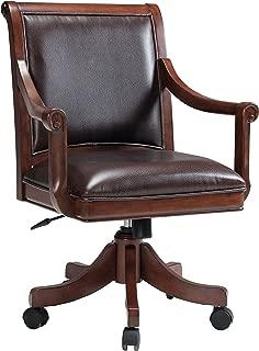 Hillsdale Palm Springs Caster Chair. Medium Brown Cherry