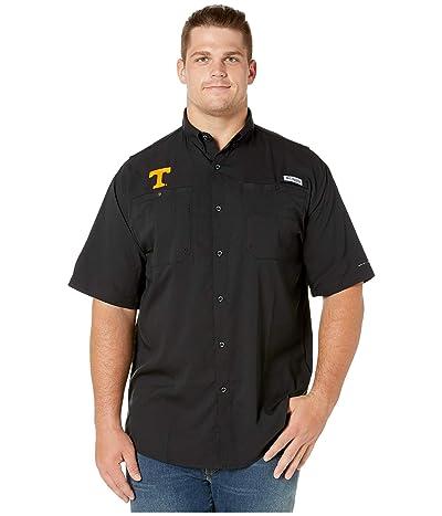 Columbia College Big Tall Tennessee Volunteers Collegiate Tamiamitm II Short Sleeve Shirt (Black) Men