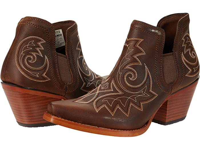 Durango Crush 6-inch Booties w/ Embroidery