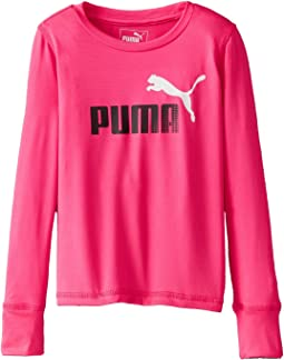 Puma Kids - Forever Faster Long Sleeve Tech Tee (Little Kids)