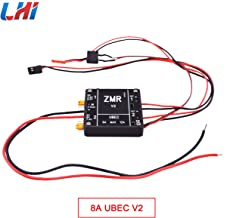 LHI ZMR 8A+8A Two-Way UBEC Input Voltage 2-6S Lipo 4-8S BEC Remote-Control Switching System for RC FPV Drone Quadcopter/Multi-axis/Helicopter/Image Transmission/Flight Controller(V2)