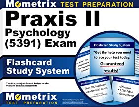 Praxis II Psychology (5391) Exam Flashcard Study System: Praxis II Test Practice Questions & Review for the Praxis II: Subject Assessments (Cards)