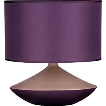 HEATHER Lilac textured ceramic table