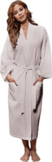 women's linen bathrobe