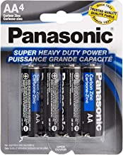 48 Pack Panasonic Super Heavy Duty AA Batteries Retail Packaging