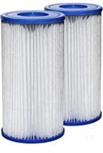 Sunset Filters - Type A or C Pool Filter Replacement Cartridge (2-Pack)
