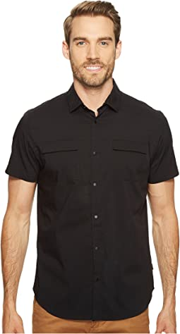 Calvin Klein Stretch Poplin Button Down Shirt