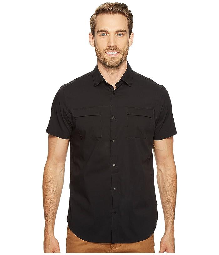 Calvin Klein Stretch Poplin Button Down Shirt
