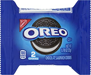 Oreo Sandwich Cookies (2-Count), 0.78-Ounce Packages (Pack of 120)