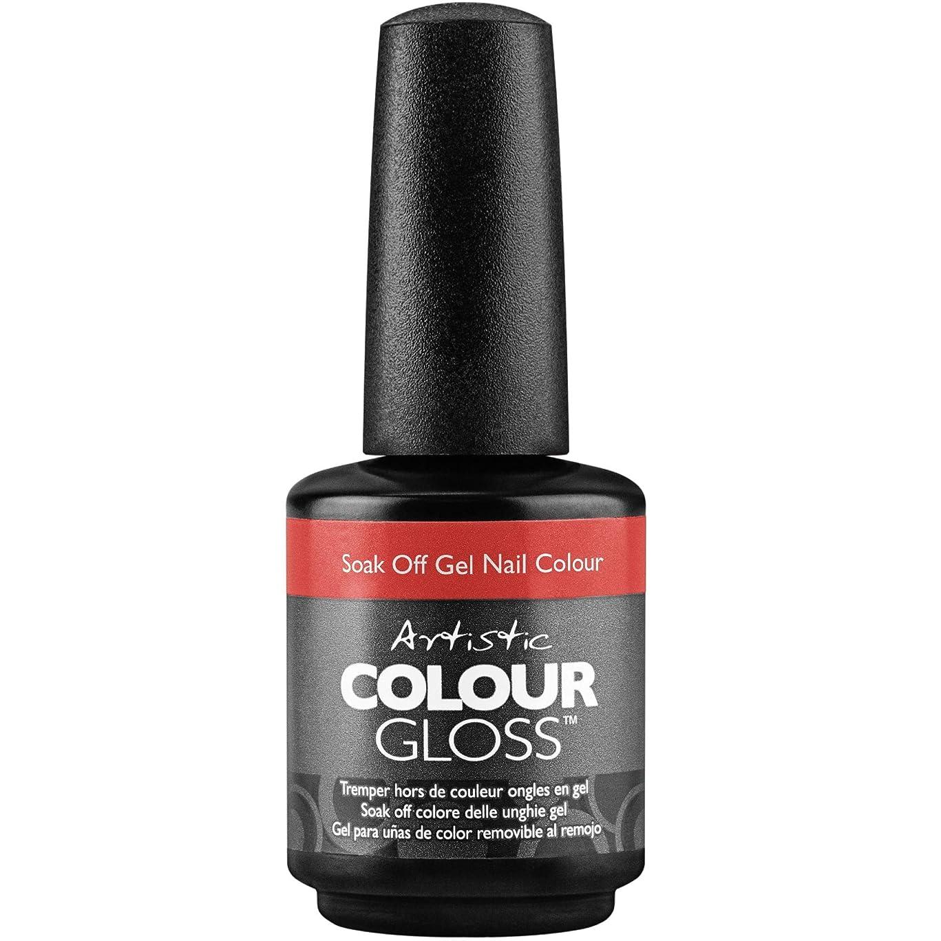 サンダルバケットマーカーArtistic Colour Gloss - Little Red Suit - 0.5oz / 15ml