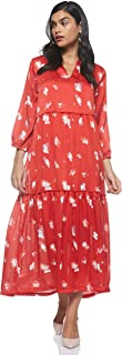 Only Womens Giza Maxi Floral Dress