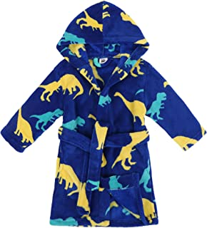 Boys Girls' Plush Soft Fleece Printed Hooded Beach Cover up Pool wrap