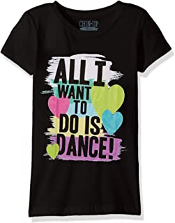 Girls' Little Girls' Dance Inspired Graphic T-Shirt