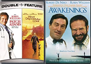 Dream Robin Williams Awakenings True Story & What Dreams May Come + Patch Adams Triple Feature Movie set