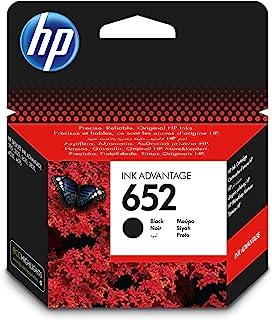 HP 652 Ink Advantage Cartridge, Black - F6V25AE