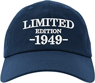 Cap 70th Birthday Gifts, Limited Edition 1949 All Original Parts Baseball Hat