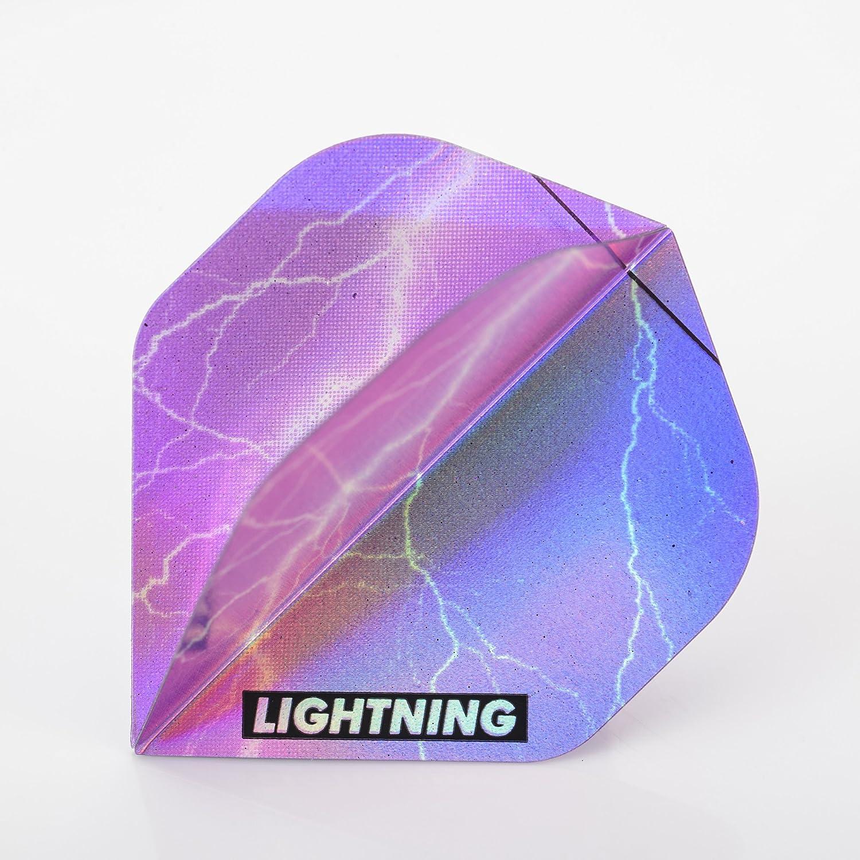 1 x Product Set McKicks Lightning Omaha Mall Standard Purple Flights Dart