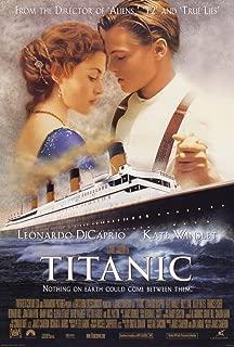 Posters Elite's Titanic Movie Leonardo Di Caprio Kate Winslet 12 x 18 Inch Poster Print Rolled Wall Decor