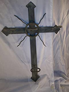 La Luz a New Mexico Handcrafted Metal Cross