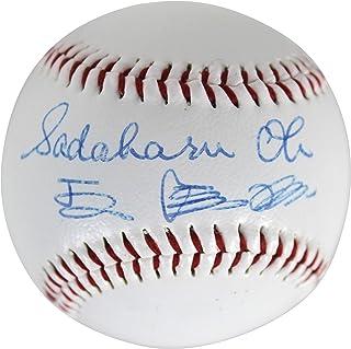 Sadaharu Oh 2x Signed English & Japanese Yakult Swallows Baseball BAS #A70514