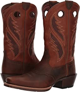 Brown Oiled Rowdy/Two-Tone Tan