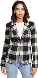 SMYTHE Women's Patch Pocket Duchess Blazer